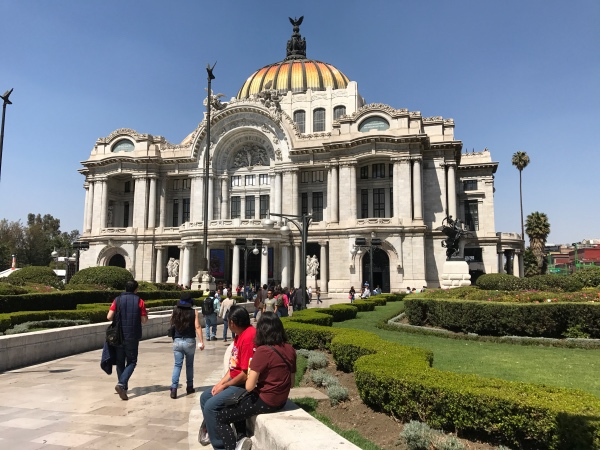 Palacio de Bellas Artes Cidade do Mexico