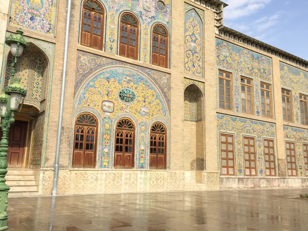 Mosaicos do Golestan Palace