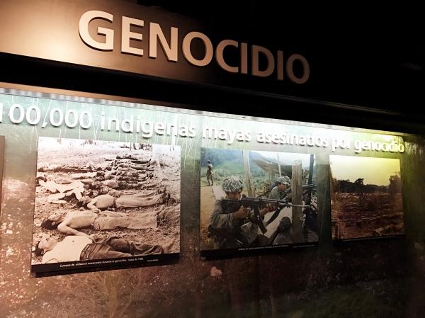 Genocídio na Guatemala Museu da Memória e Tolerância
