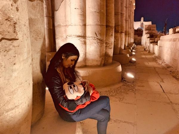 Amamentando no Egito