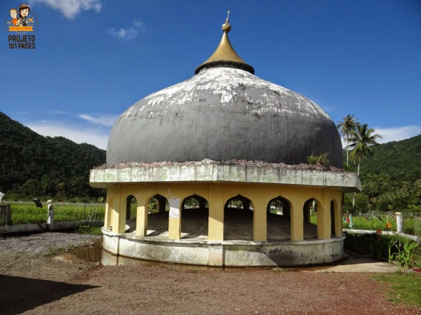 Banda Aceh Domo da Mesquita arrastado pelo tsunami