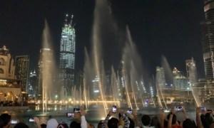 Show das águas dançantes Dubai