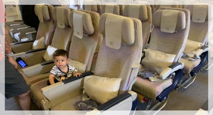 Como é viajar pela Emirates com bebê: a nossa decepção