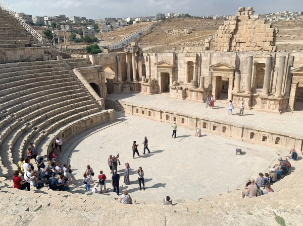 The South Theater of Jerash Jordan