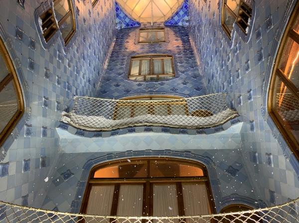 Pátio interno Casa Batlló