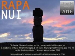 Rotas Sagradas com Conrado López: Viagem Ilha de Páscoa - Março 2016