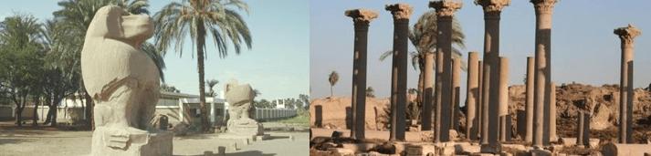 El Ashmunein • Rota Sagrada: Egito & Jordânia Junho 2019