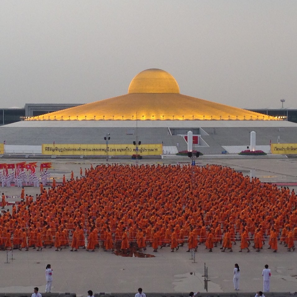 Peace Day - Wat Phra Dhammakaya Temple - Thailand
