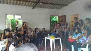 Reunião de alunos, professores e comunidade 2