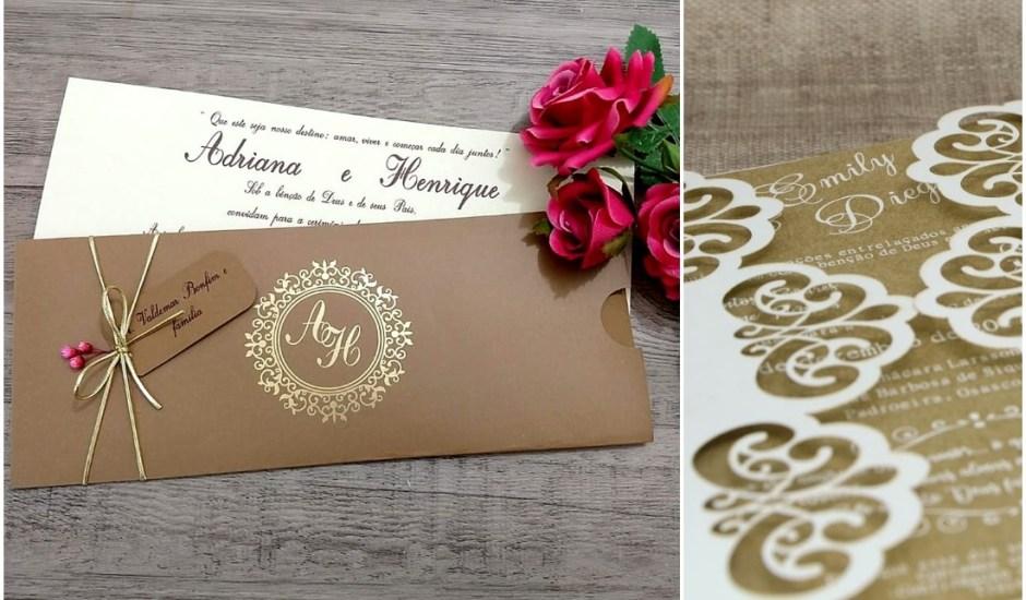 Veja 8 tendências de convites de casamento que vão bombar em 2020