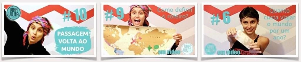 ViraVolta, Volta ao Mundo, Viagem pelo Mundo, Viagem Longo Prazo, Dicas em vídeo