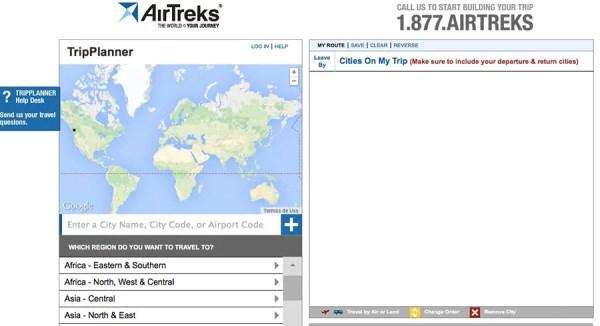 Simulador AirTreks