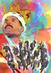 affiche spectacle symphoniquement queen