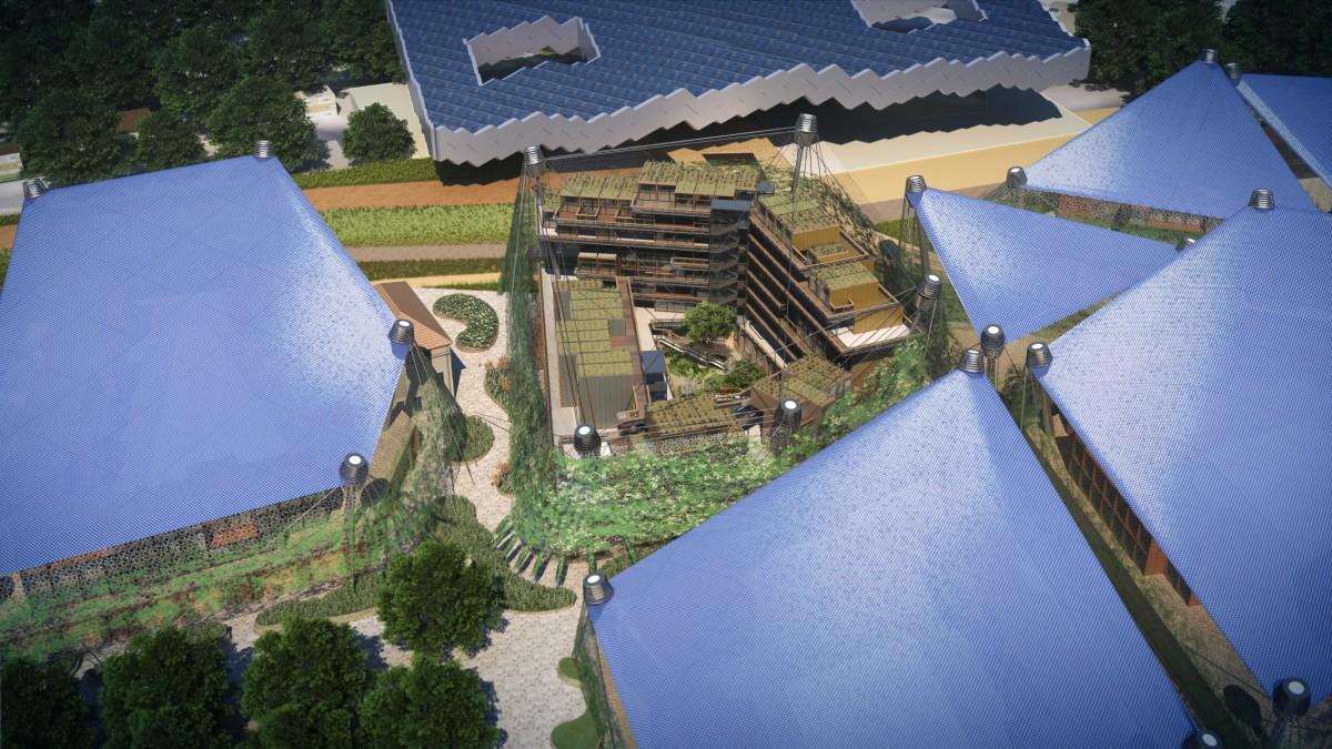 habitation energie positive eiffage 1200x675 La ville en 2030 : Présentation de la ville durable du futur