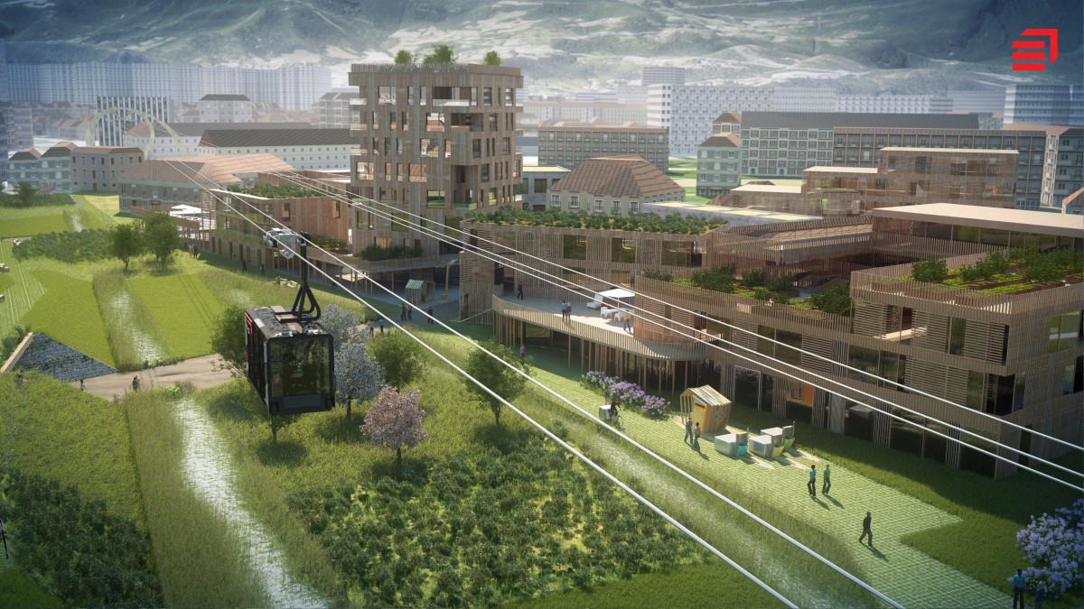 ville durable 2030 eiffage poma 1200x675 La ville en 2030 : Présentation de la ville durable du futur