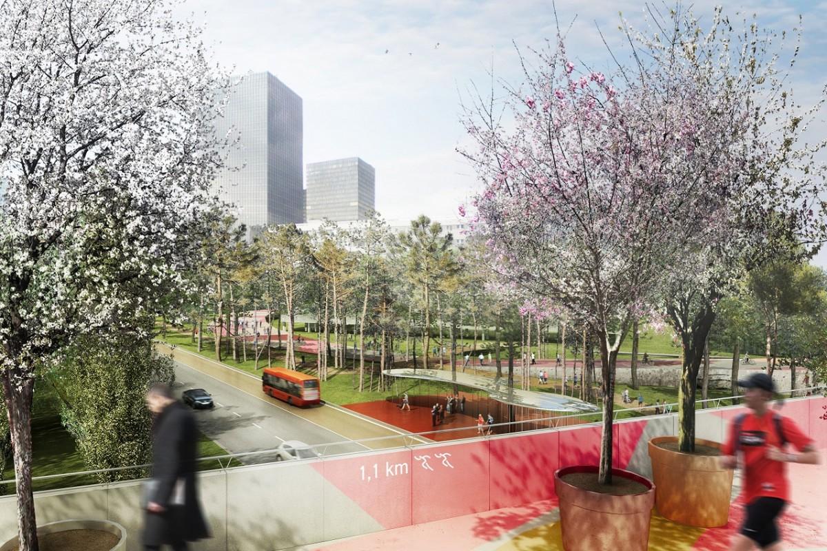 parc public la defense 1200x800 Le futur des espaces publics à La Défense en 2020 : toutes les images