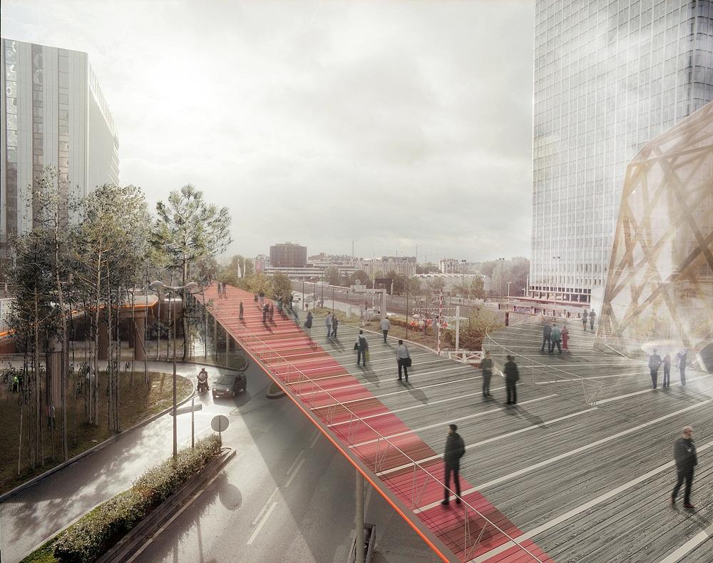projet amenagement parvis la defense Le futur des espaces publics à La Défense en 2020 : toutes les images