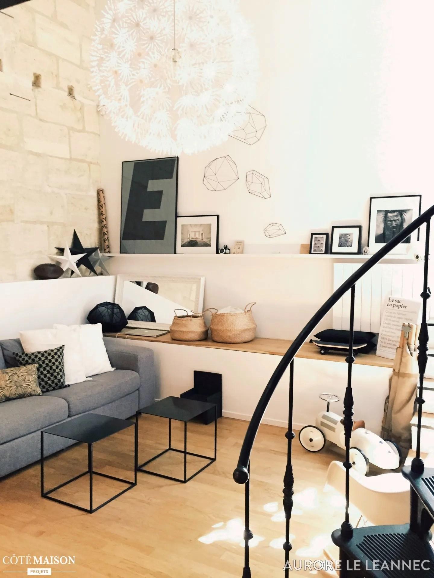Salon Style Scandinaveindustriel Aurore Le Lannec