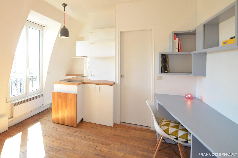Rnovation Studio 15m2 Paris 12me Franois Ernoult