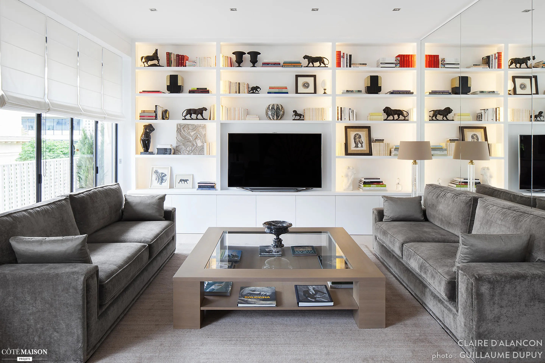 Appartement Contemporain Claire DAlanon Ct Maison