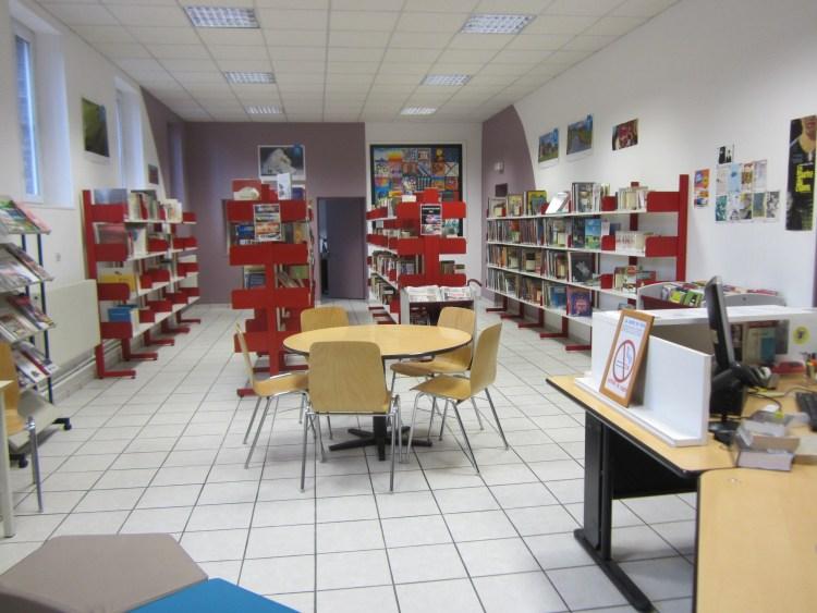 Bibliothèque de la Maison d'arrêt de Rouen en cours de réaménagement
