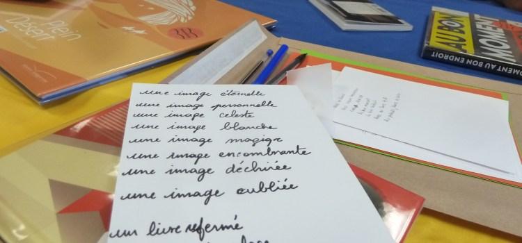 Coutances, 1er octobre 2020, atelier photo-écriture avec Marie-Céline Nevoux-Valogne et Aurélie Guérinet