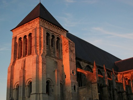 Eglise St Julien, Tours durant la golden hour