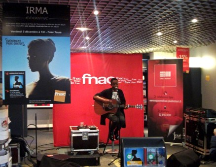 Irma session acoustique à la Fnac