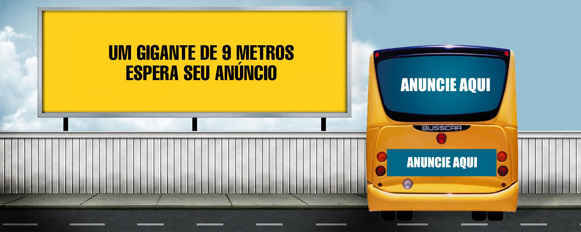 Outdoor em Salvador Bahia - Publicidade em Ônibus