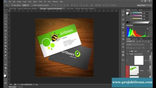 Business Card Design Tuto-31(Intro)