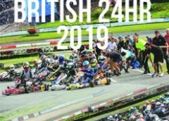 Prokart SSS flag flying high at the British 24 Hour