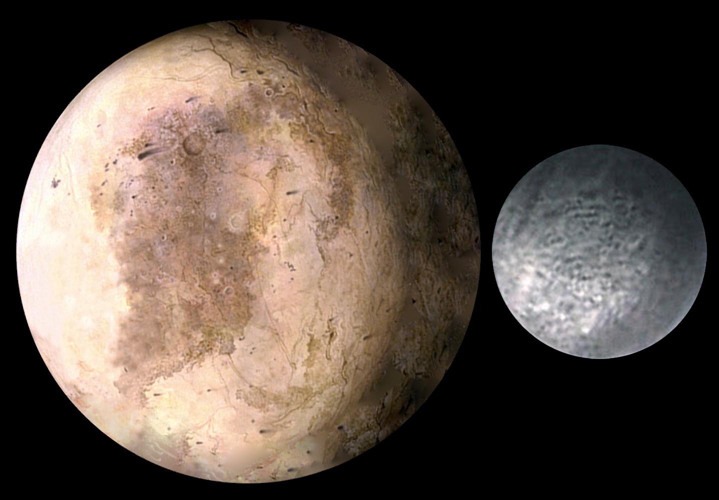 плутон и харон фото поэтому столько
