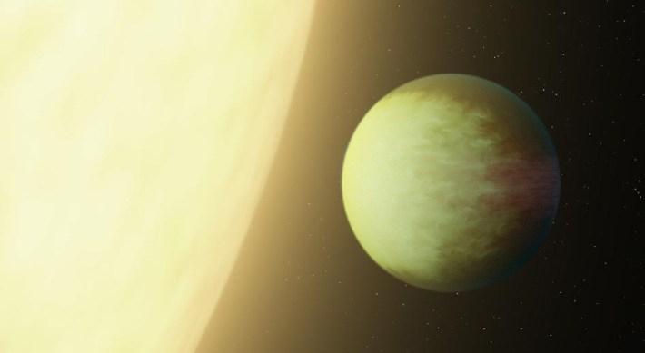 Экзопланета kepler7b