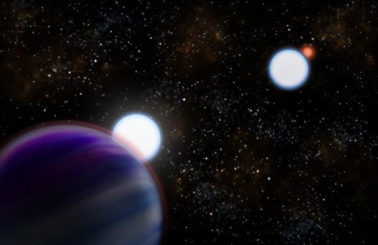 Тайны экзопланеты из двойной звездной системы