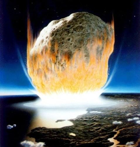 Астероид, уничтоживший динозавров, вызвал цунами