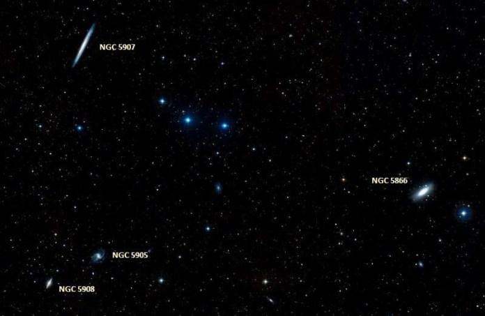 Галактика Веретено (Мессье 102, NGC 5866)