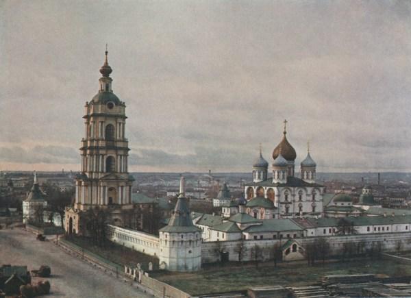 Новоспасский мужской монастырь в Москве. Преображенский ...