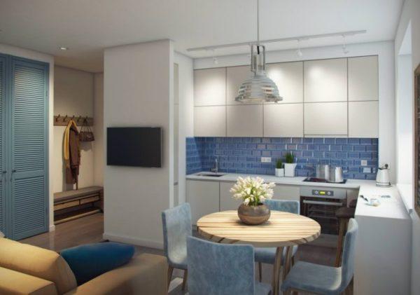 Кухня-гостиная 14 кв. м: дизайн, фото, нюансы оформления ...