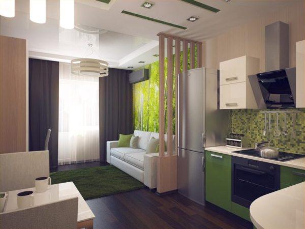 Кухня-гостиная 18 квадратов: дизайн, фото интерьеров ...