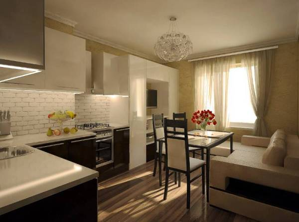 Кухня-гостиная 25 кв. м: дизайн, фото, планировка кухни-студии