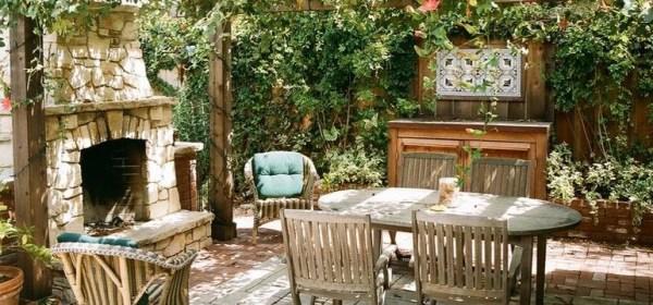 Летняя кухня в частном доме: фото, лучшие варианты уличных ...
