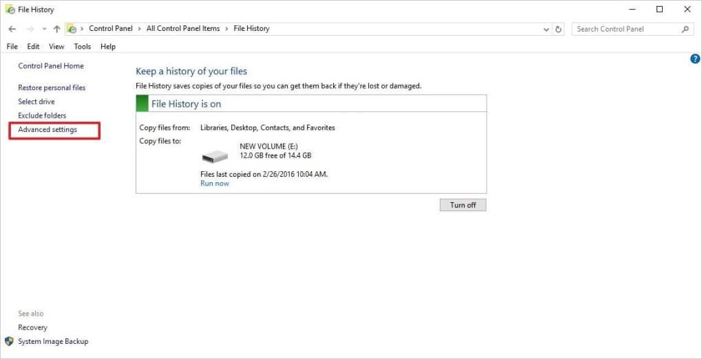 làm trống bộ nhớ windows 10 pc