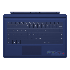 Ban phim Surface Pro 3 Type Cover mau Xanh den blue
