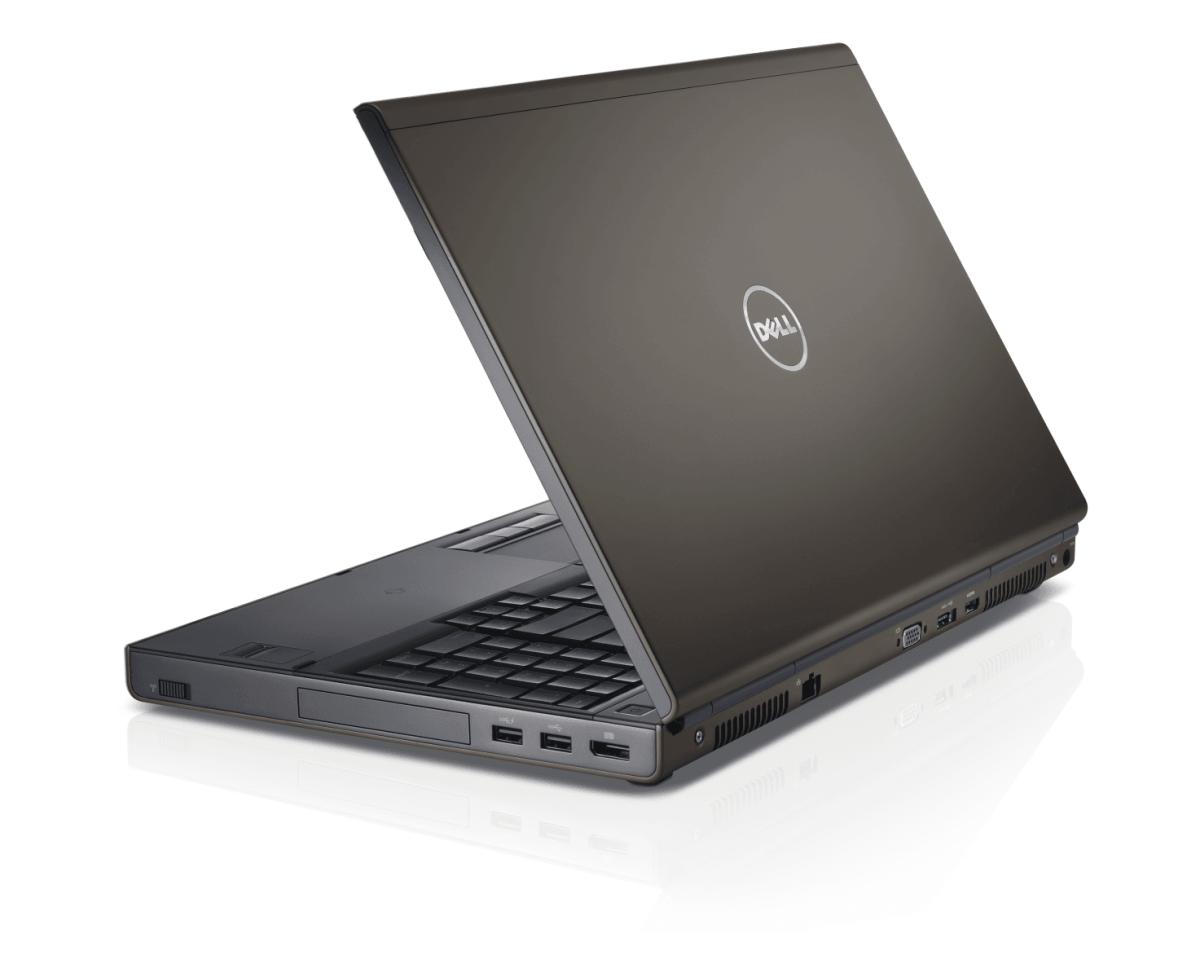 Dell Precision M4800 mặt lưng
