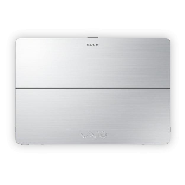 Mặt lưng Sony Vaio Flip 13 màu bạc