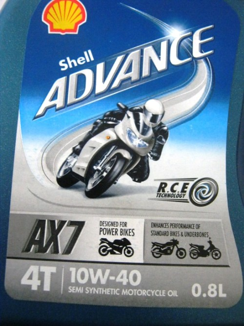 Review Shell Advance AX7 Untuk Pulsar