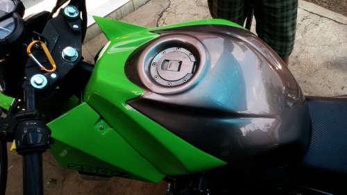 Modifikasi Regal Raptor NAC 320 cc, Street Fighter Rasa 4 Silinder