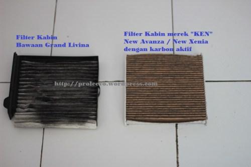 Mengatasi Masalah Bau Tidak Sedap AC Grand Livina dengan Filter Kabin Karbon Aktif