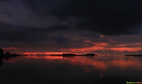 Senja di Pulau Pari