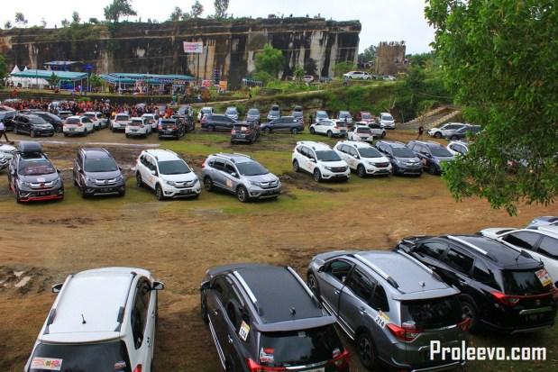 Lebih Dari 150 Honda BR-V Padati Taman Tebing Breksi Yogyakarta